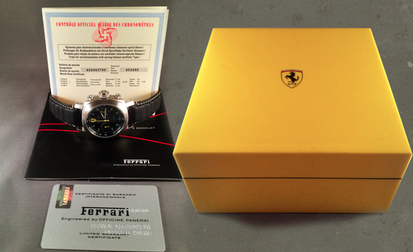 Panerai Ferrari Chrono | For Sale
